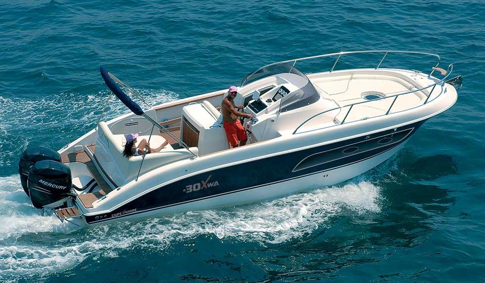 giupex marine 30x wa walkaround versione fb fuori bordo